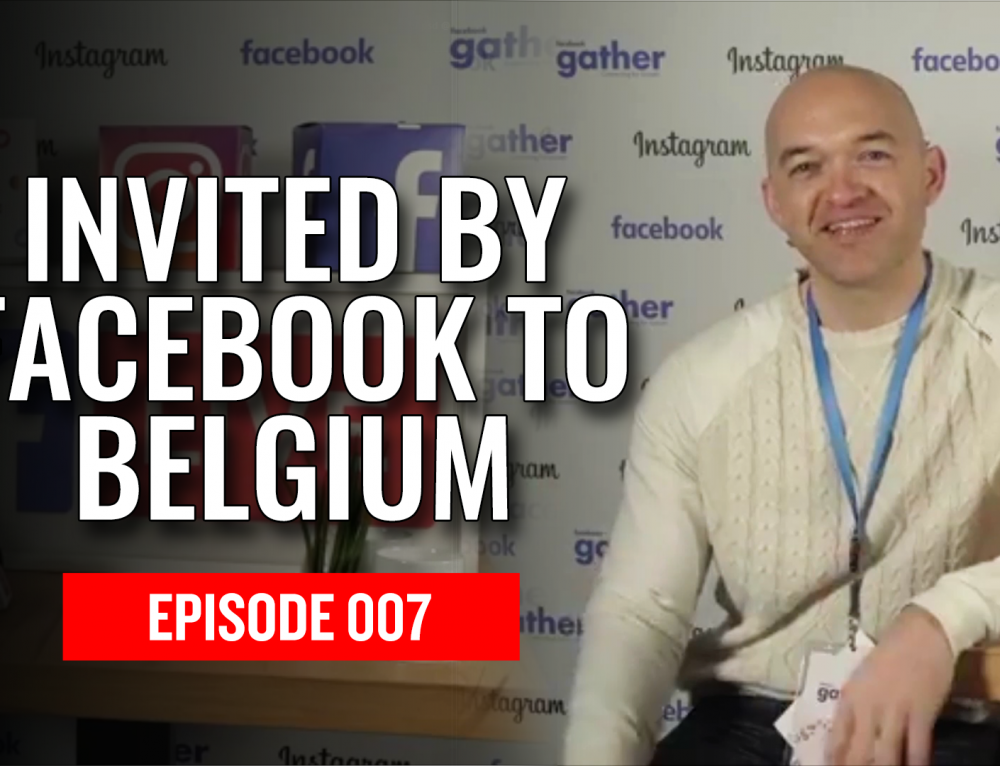 BOE TV #007 – Invited by FACEBOOK to Belgium